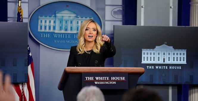Kayleigh McEnany Tourches Fake News Reporters