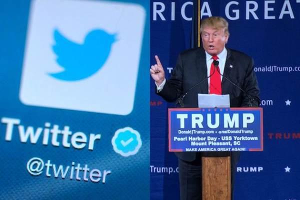 Anti-Trump Twitter Plot