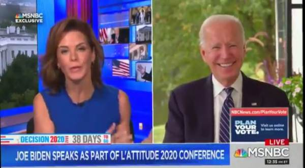 Biden Blasted for Comparing Trump to Nazi Propagandist Goebbels