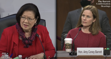 Hirono is a hack