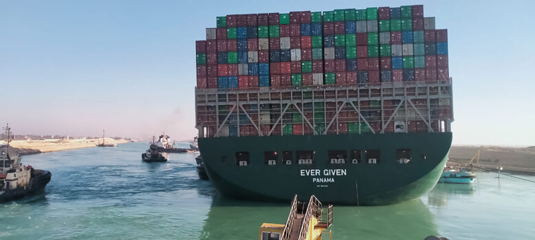 'Ever Given' container ship