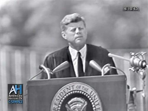 JFK – Accept Our Diverse World As It Is