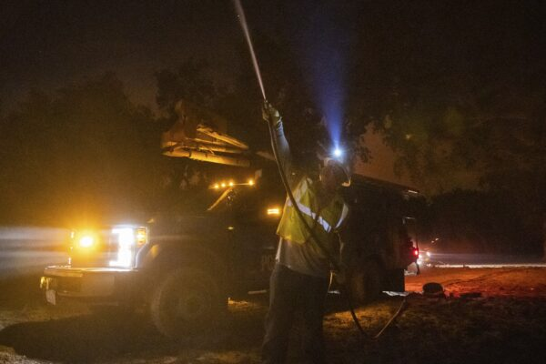 California Wildfire Utility Charged