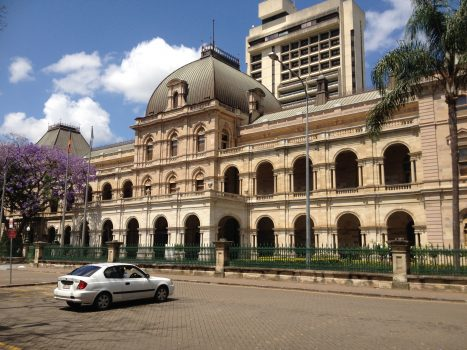 Queensland Parliament House in downtown Brisbane, Australia, on Oct. 19, 2013 (Wikimedia Commons CC)